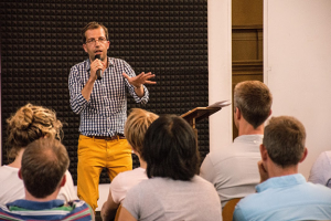 Bezoek Engelse theoloog Sam Wells aan Amsterdam
