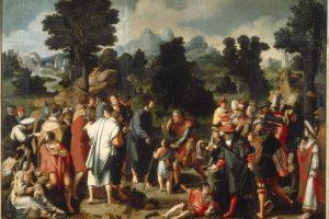 Genezing van de blinde van Jericho