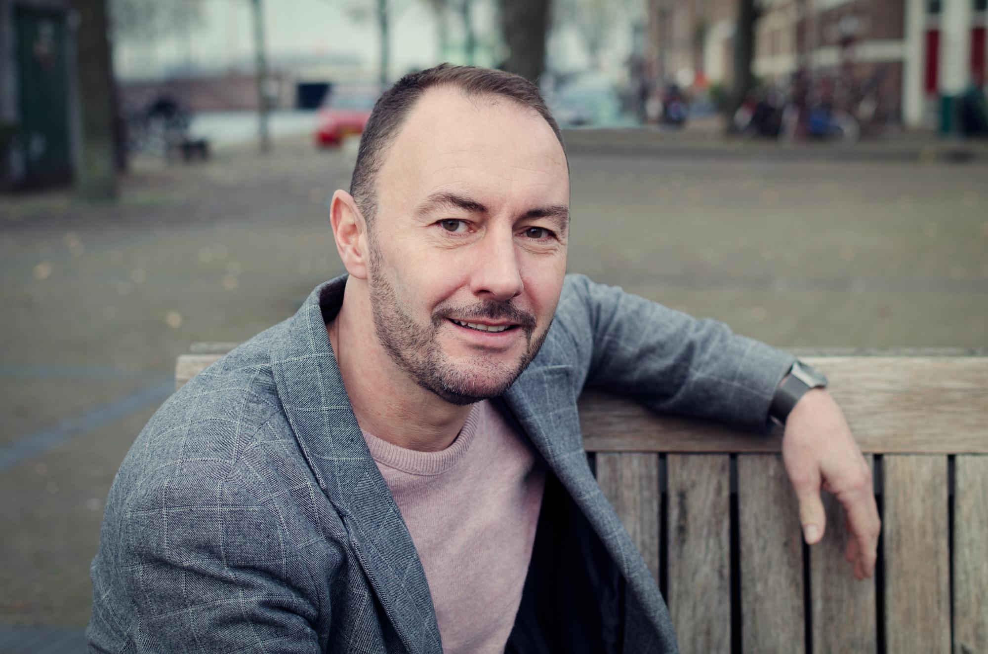 Stadsdeelpastor Martin de Jong werkt in Amsterdam Nieuw-West