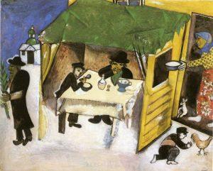 Kunst bij Joodse feesten in het najaar