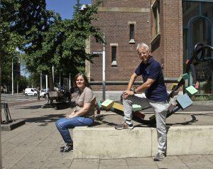 Taalcafé voor nieuwe Nederlanders in de Muiderkerk