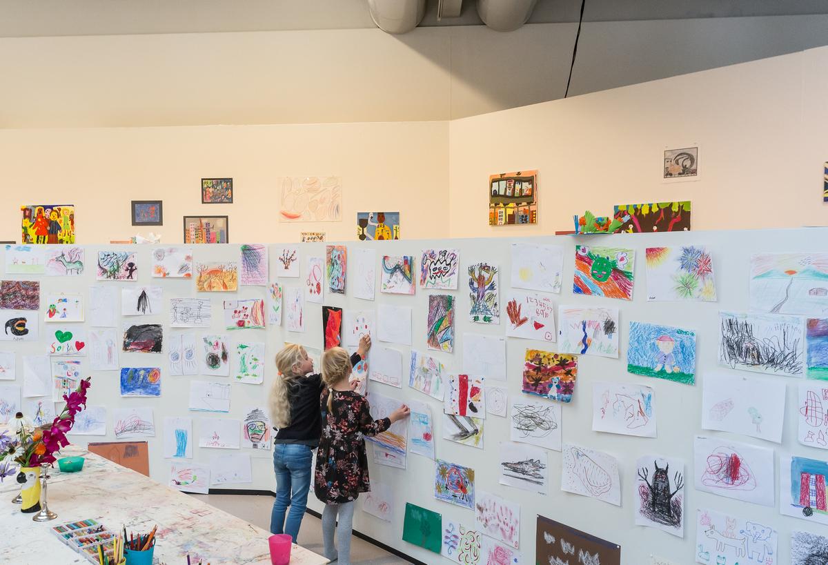 Kerst020 kunstwedstrijd voor kinderen