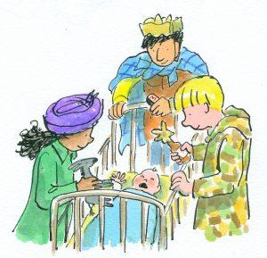 Kerstverhaal – De drie wijzen uit Oost