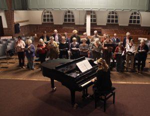 Zingen met kerk en buurt in de Nassaukerk