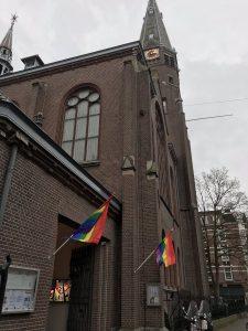 Protestantse Kerk Amsterdam: 'Alle kerken zouden regenboogvlag moeten hijsen'