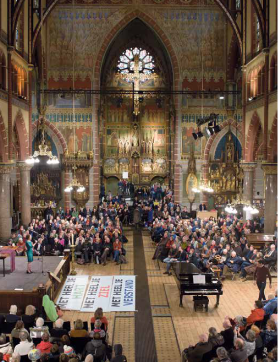 Groene kerken in Amsterdam