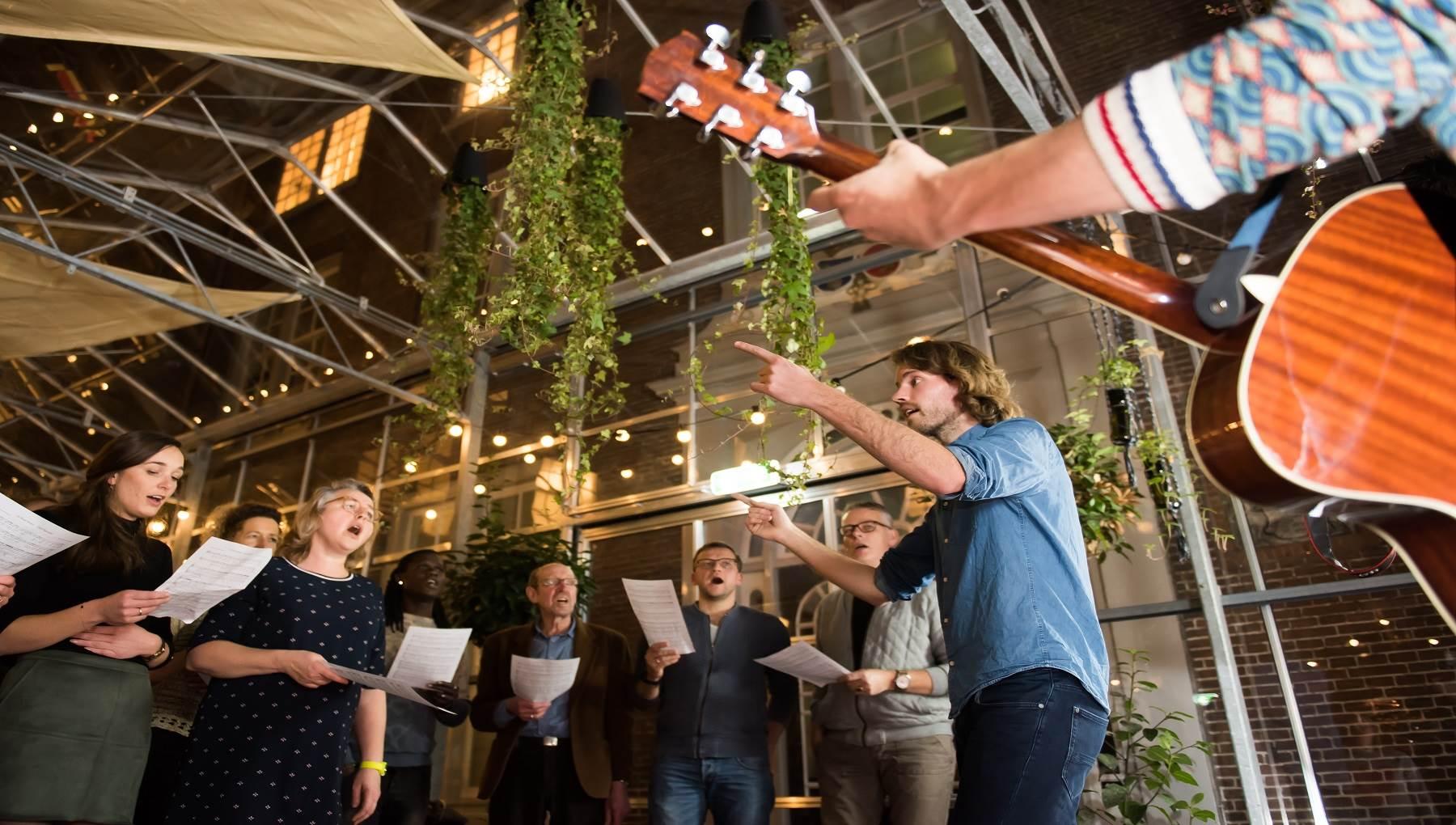 Zingen met het Popup Choir