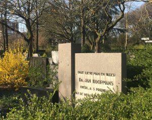 Bij het graf van Jan Koopmans – Johan Visser
