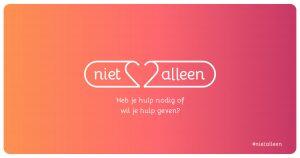 Al 2000 hulpvragen bij #Niet alleen: Alleen al een luisterend oor doet goed