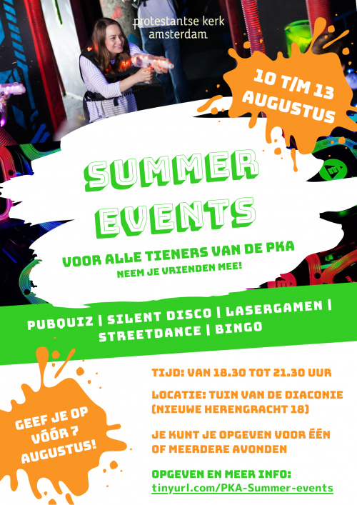Summer Events #3: Graffiti & streetdance workshop