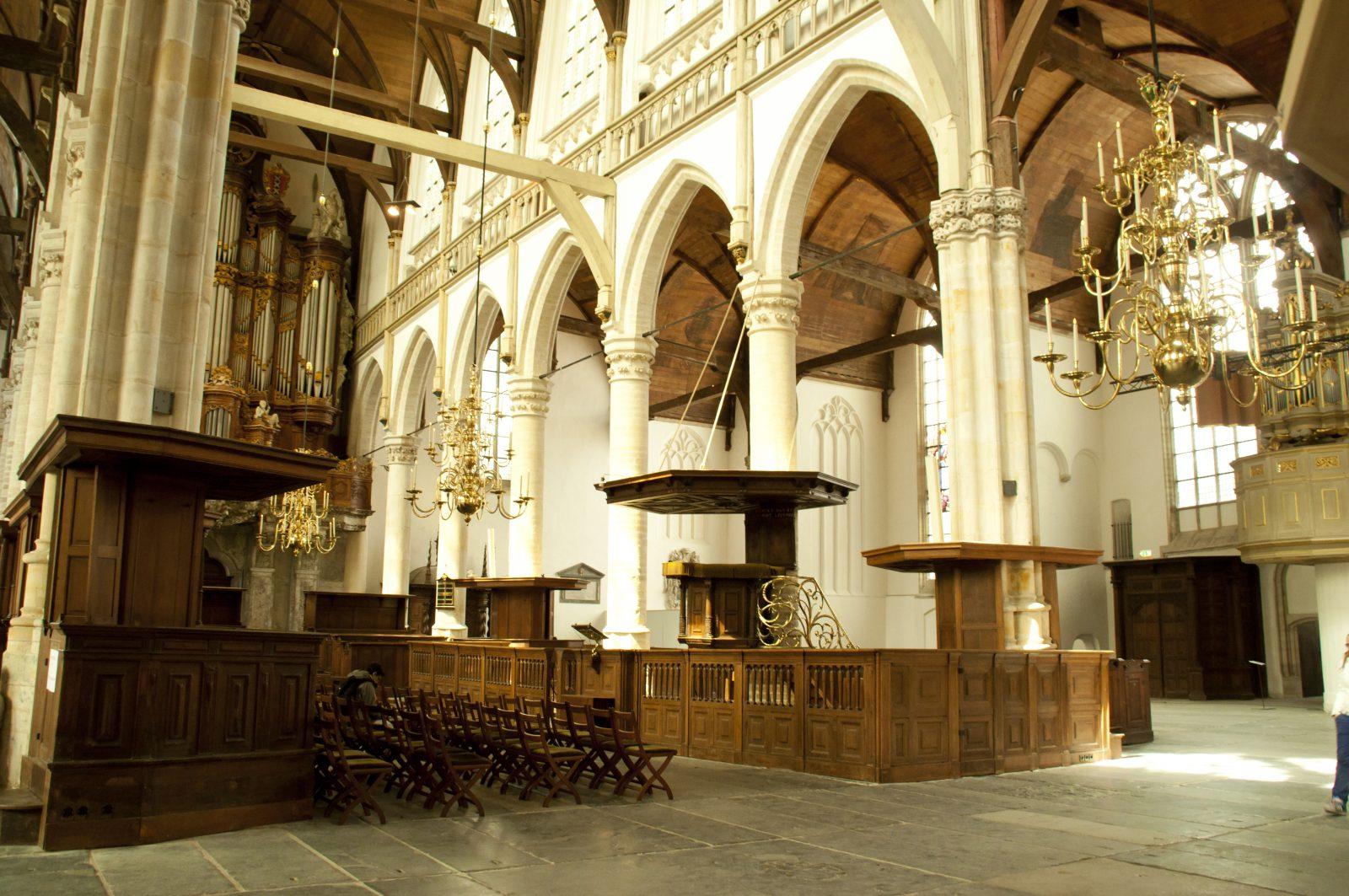 Kerstavond in de Oude Kerk