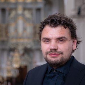 Westerkerkorganist Evan Bogerd geniet van orgel met grote bek
