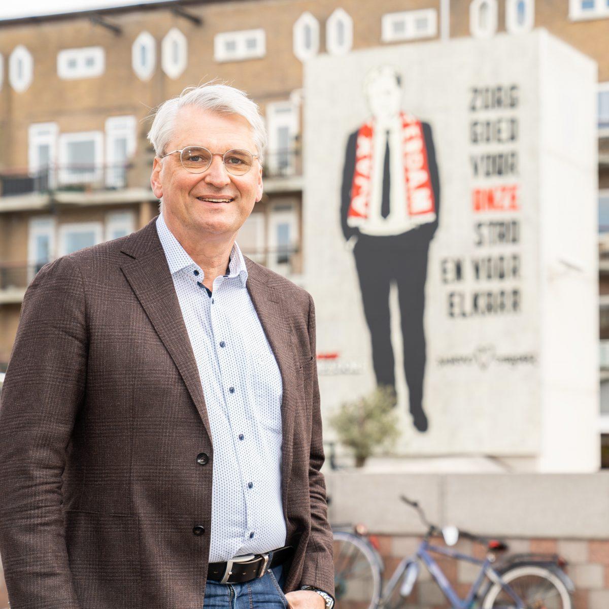 Bas van der Graaf neemt afscheid van Amsterdam