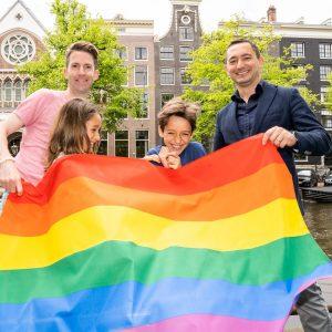 Ioan Nemes, vaste bezoeker van de Pride Kerkdienst